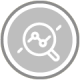 icon circle evaluate